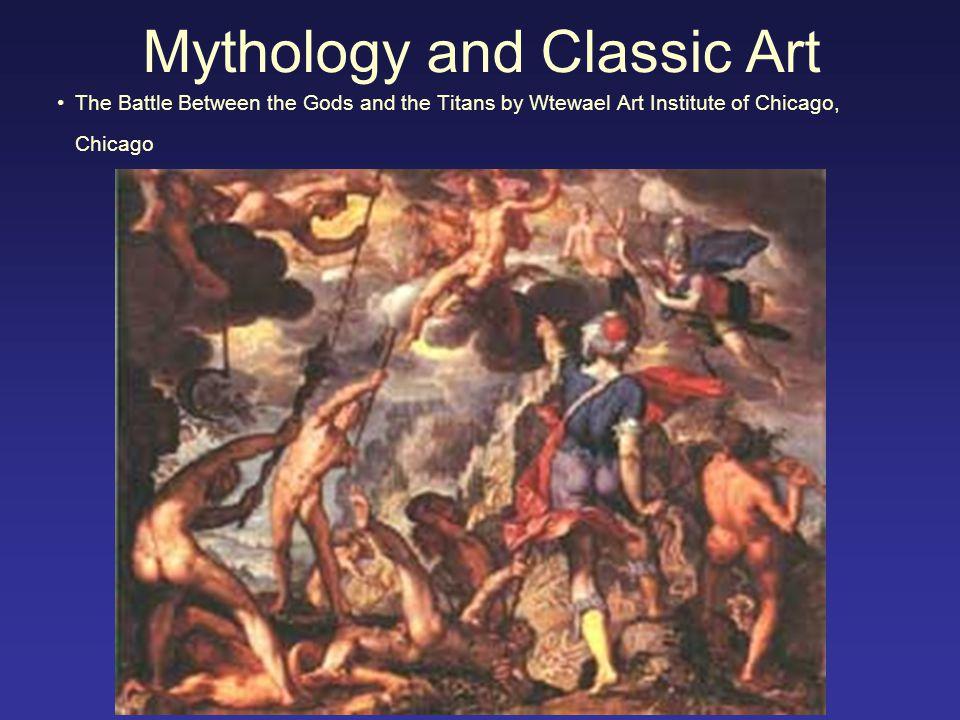 Mythology and Classic Art