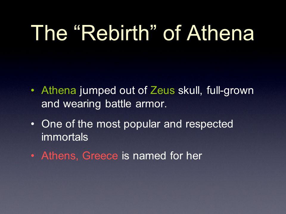 The Rebirth of Athena