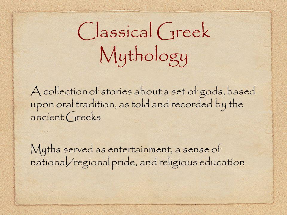 Classical Greek Mythology