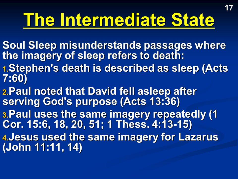 The Intermediate State