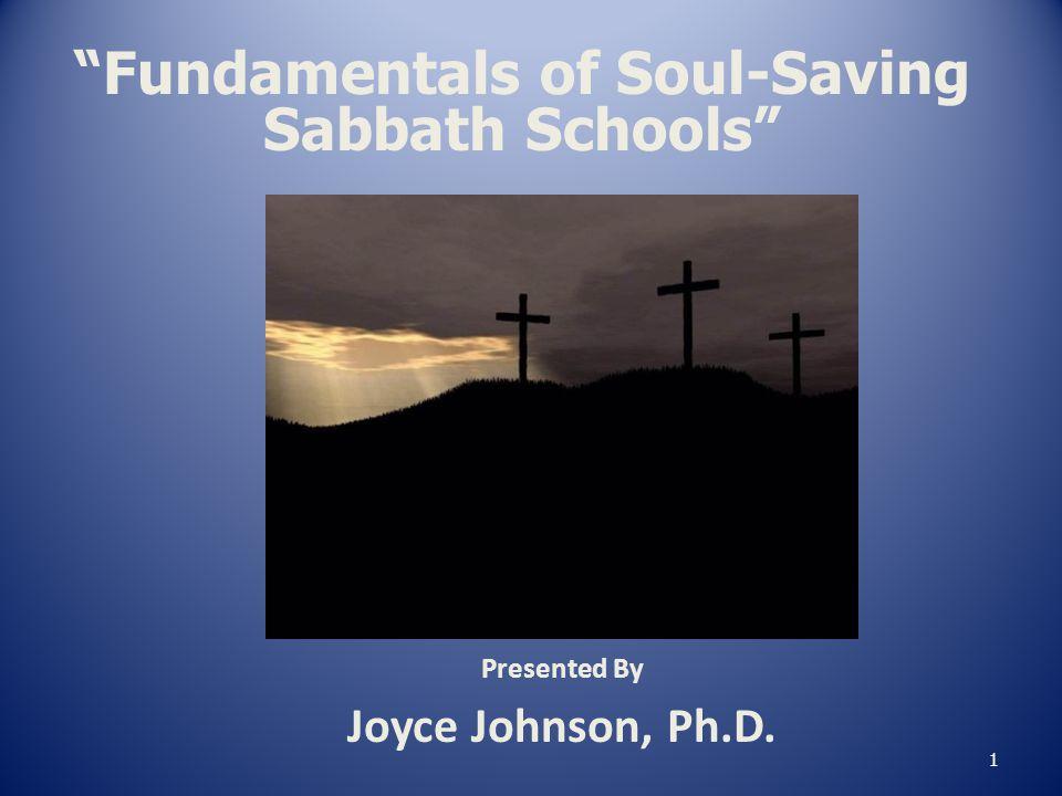 Fundamentals of Soul-Saving Sabbath Schools