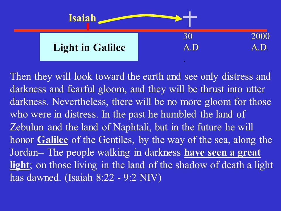 Isaiah Light in Galilee