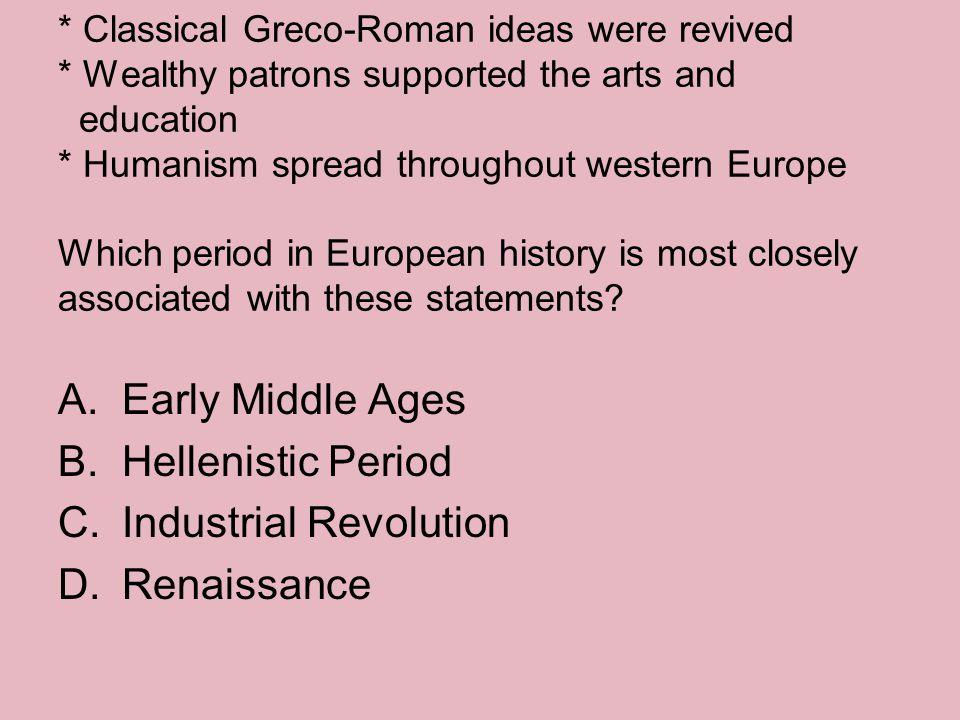 Industrial Revolution Renaissance