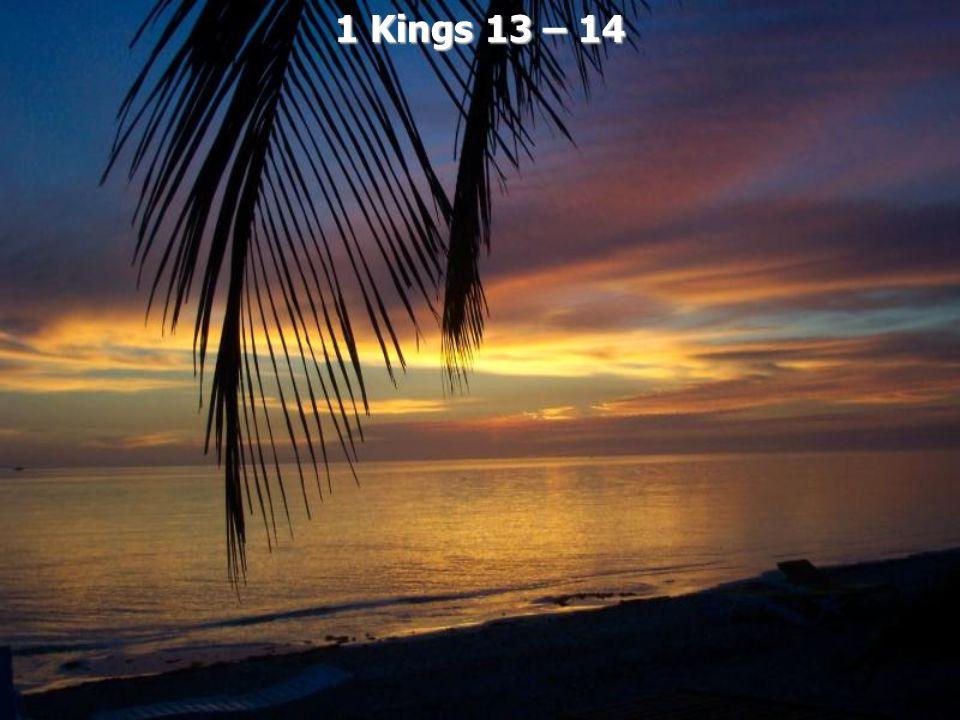 1 Kings 13 – 14