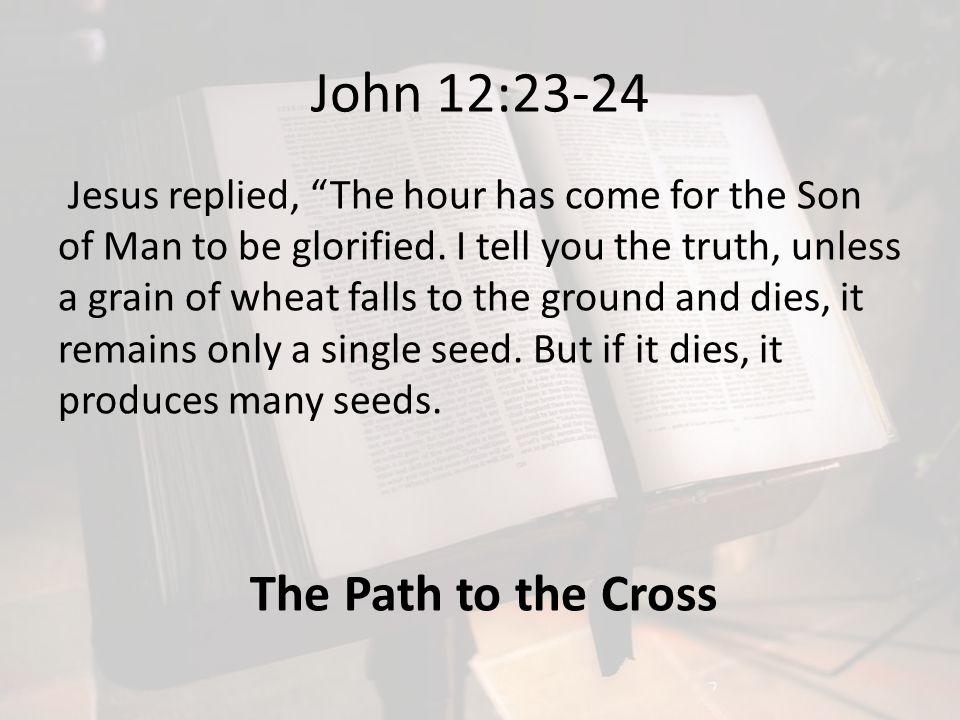 John 12:23-24