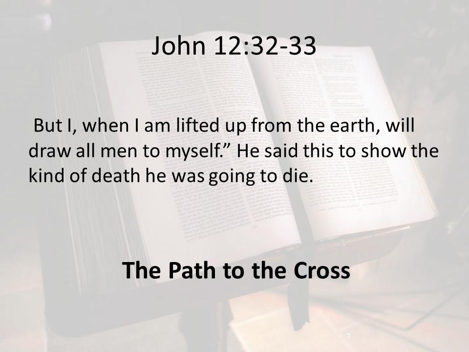 John 12:32-33