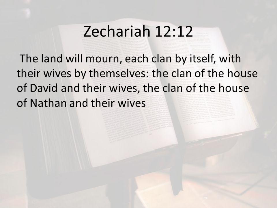Zechariah 12:12