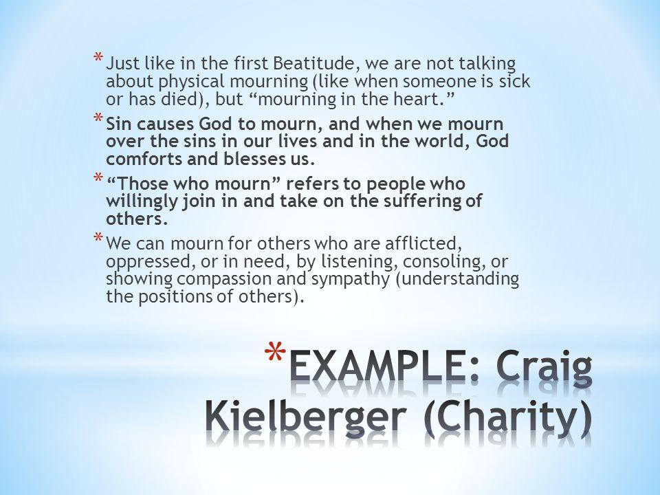 EXAMPLE: Craig Kielberger (Charity)