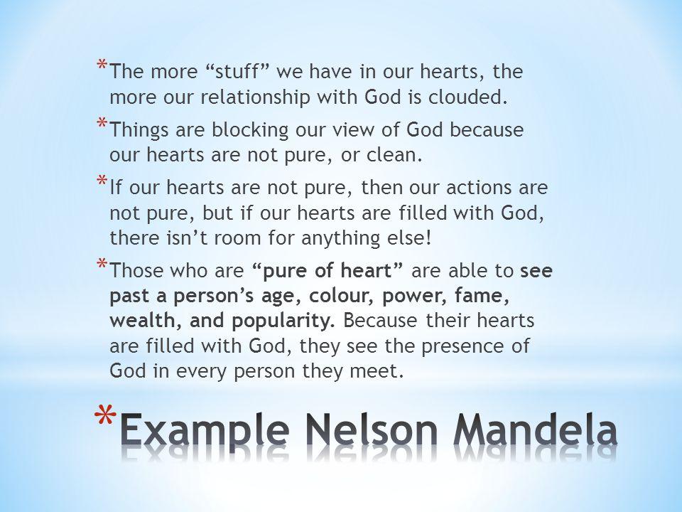 Example Nelson Mandela