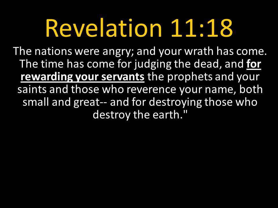 Revelation 11:18