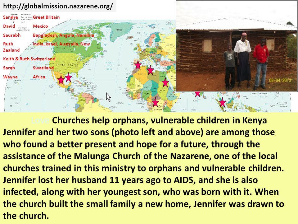 Love Churches help orphans, vulnerable children in Kenya