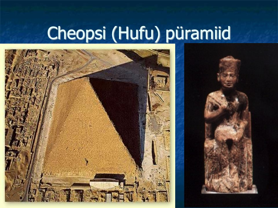 Cheopsi (Hufu) püramiid