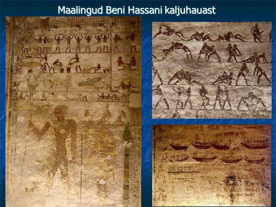 Maalingud Beni Hassani kaljuhauast