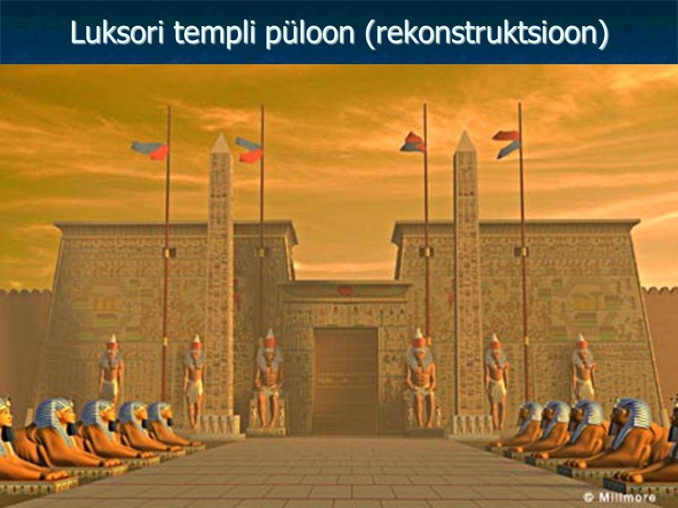 Luksori templi püloon (rekonstruktsioon)