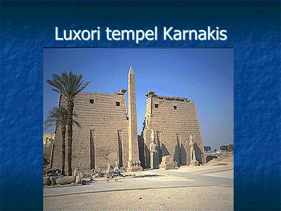 Luxori tempel Karnakis