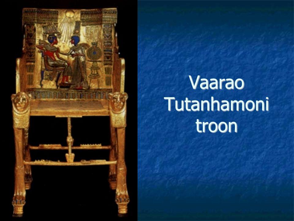 Vaarao Tutanhamoni troon