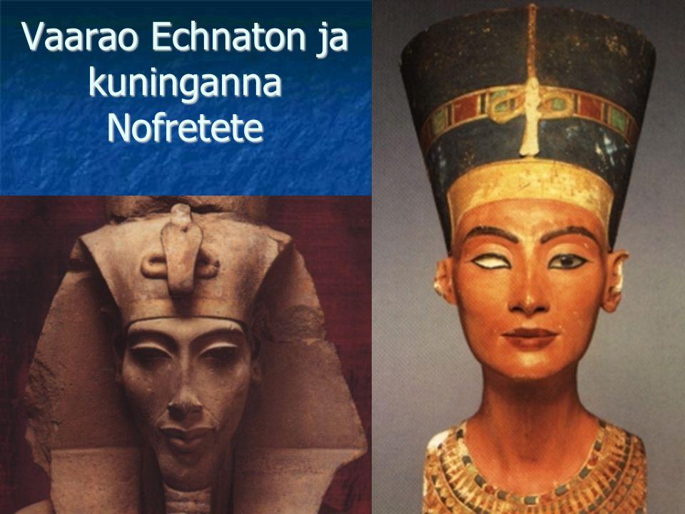 Vaarao Echnaton ja kuninganna Nofretete