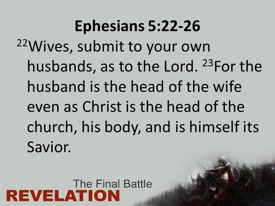 Ephesians 5:22-26