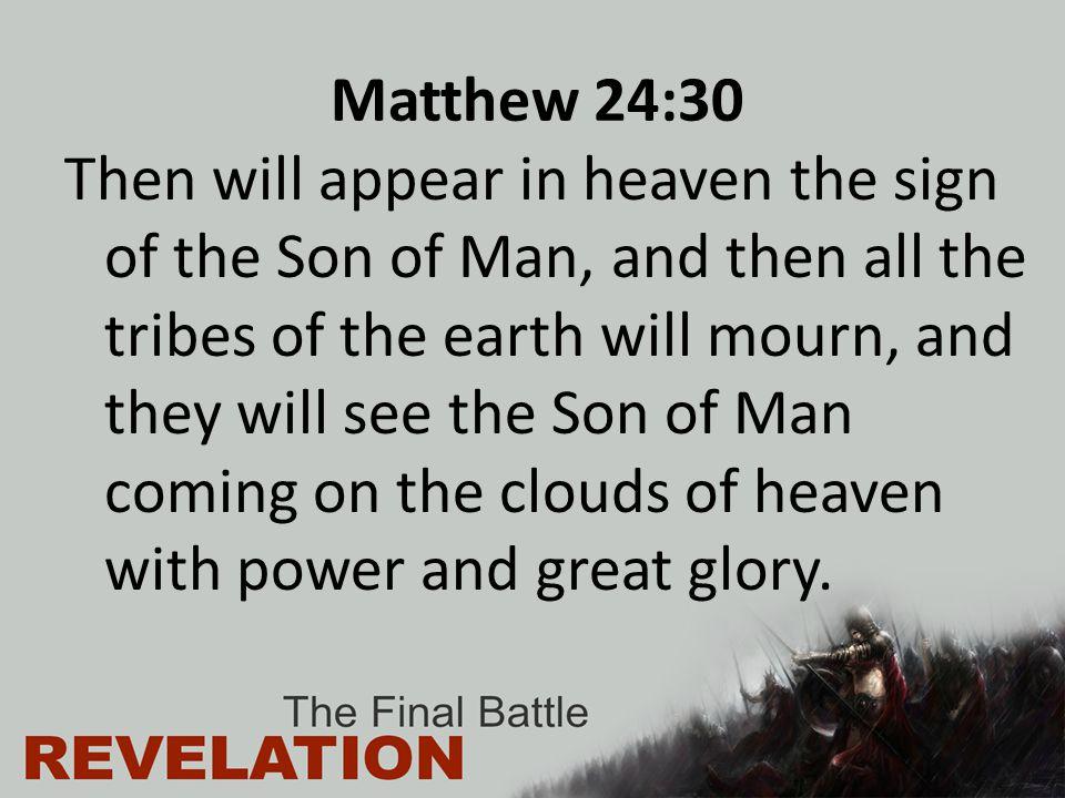 Matthew 24:30