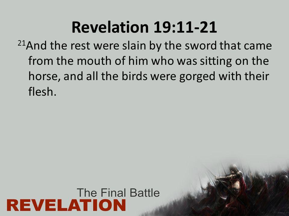 Revelation 19:11-21