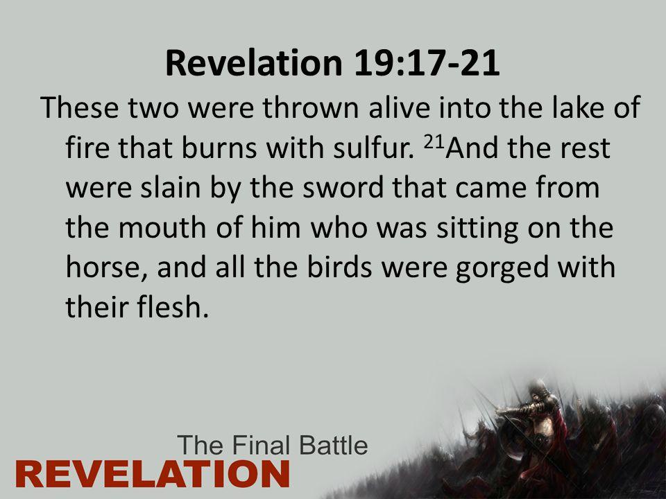 Revelation 19:17-21