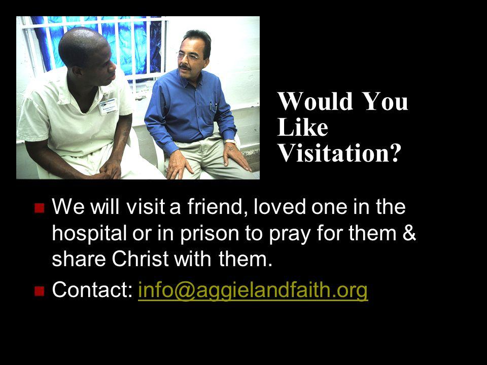 Would You Like Visitation