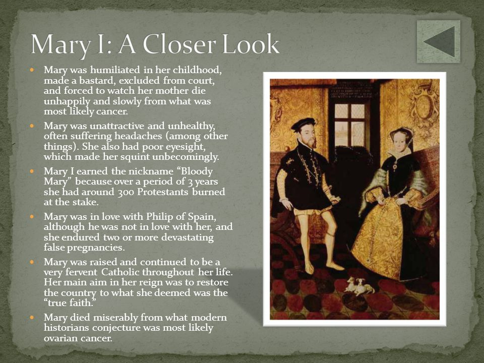 Mary I: A Closer Look