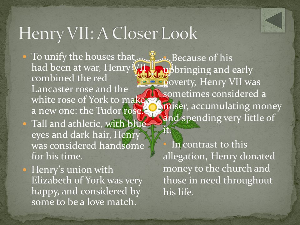 Henry VII: A Closer Look