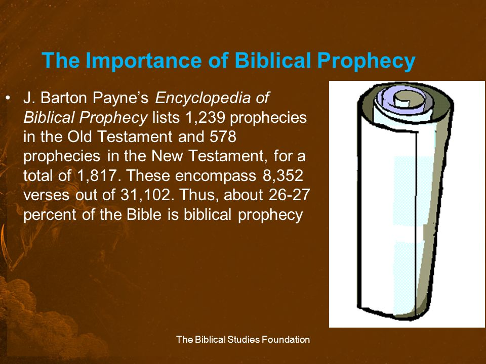 The Importance of Biblical Prophecy