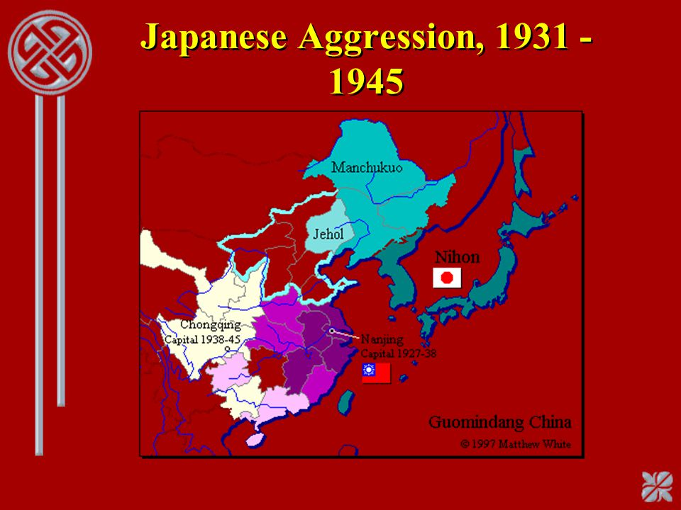 Japanese Aggression, 1931 - 1945