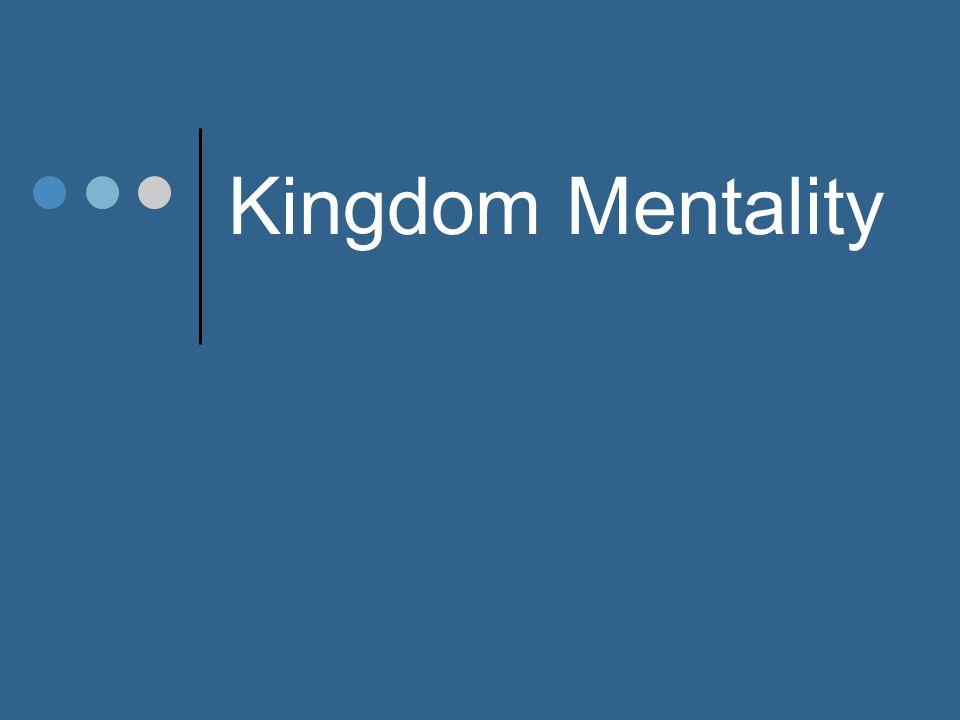 Kingdom Mentality PRAY