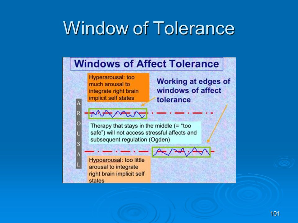 Window of Tolerance Pat Ogden