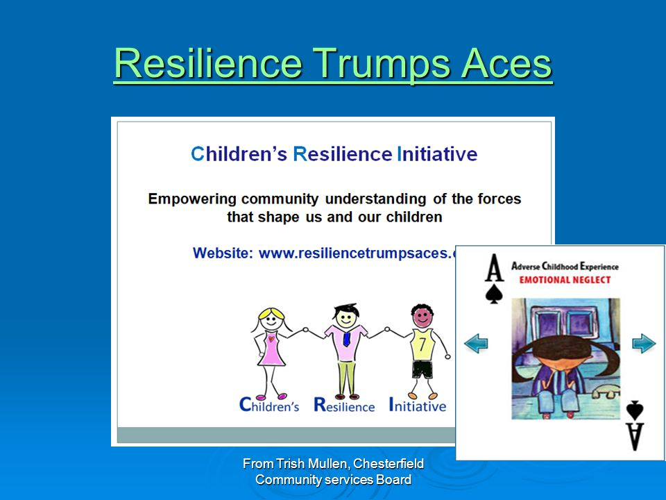 Resilience Trumps Aces