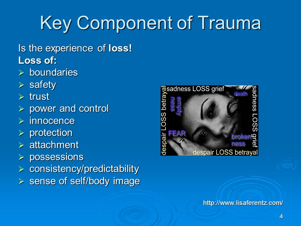 Key Component of Trauma