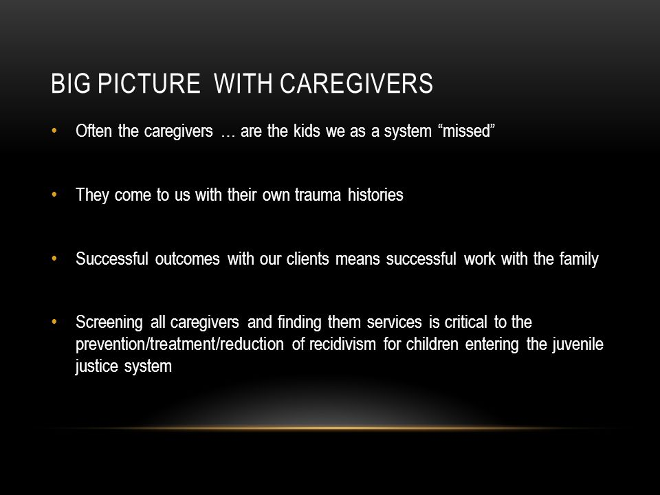 BIG PICTURE with Caregivers