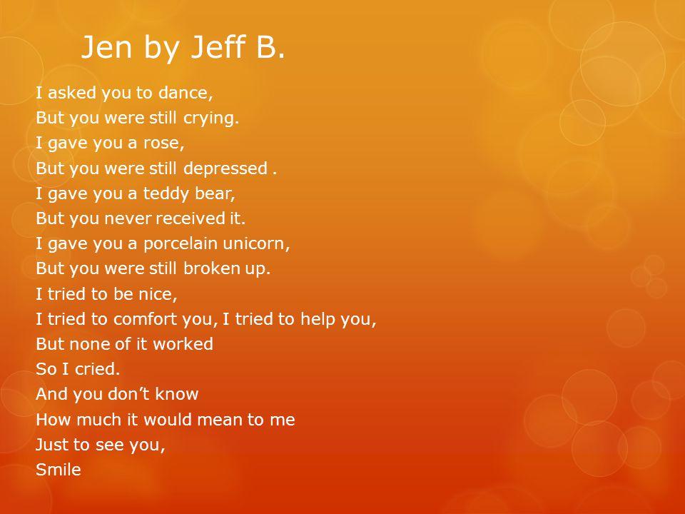 Jen by Jeff B.