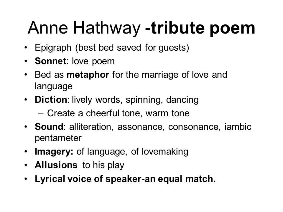 Anne Hathway -tribute poem