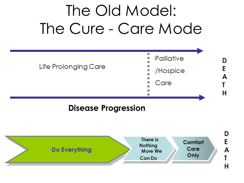 The Old Model: The Cure - Care Mode