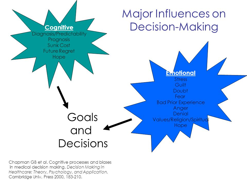 Major Influences on Decision-Making
