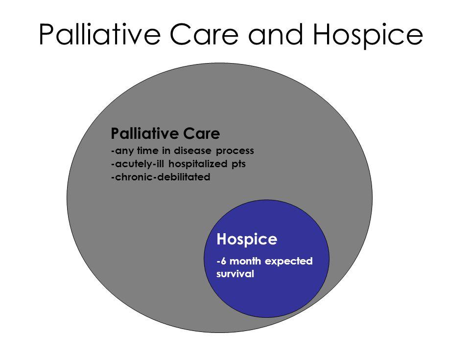 Palliative Care and Hospice