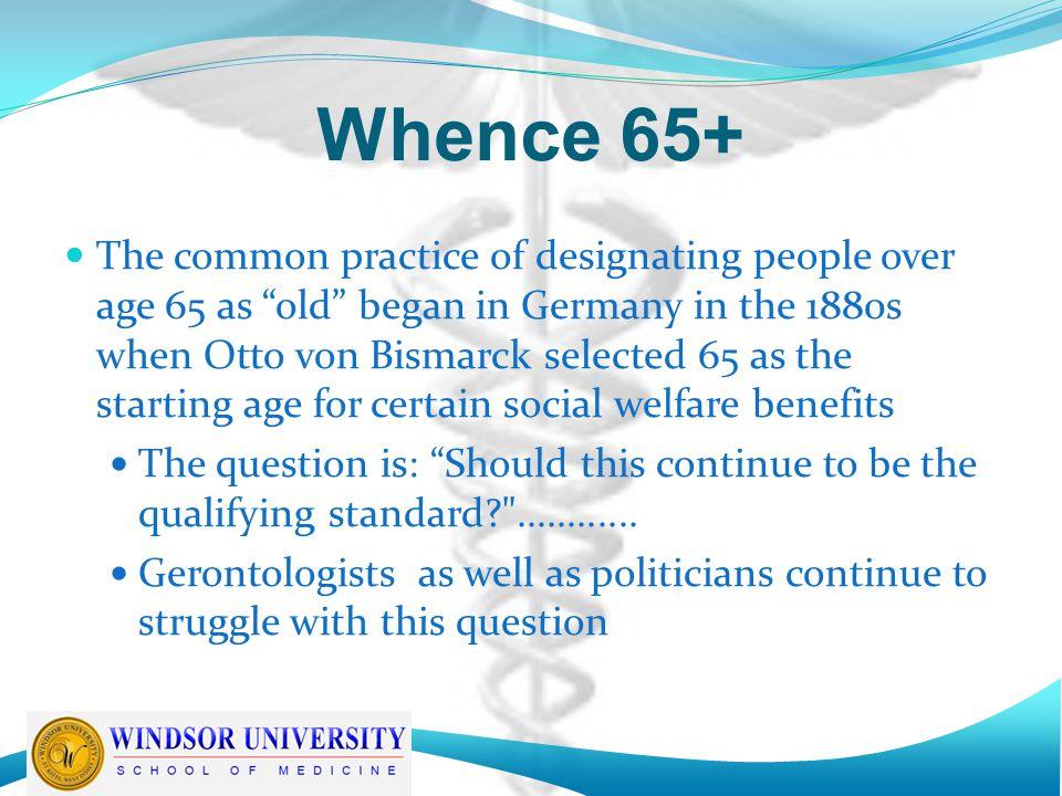 Whence 65+