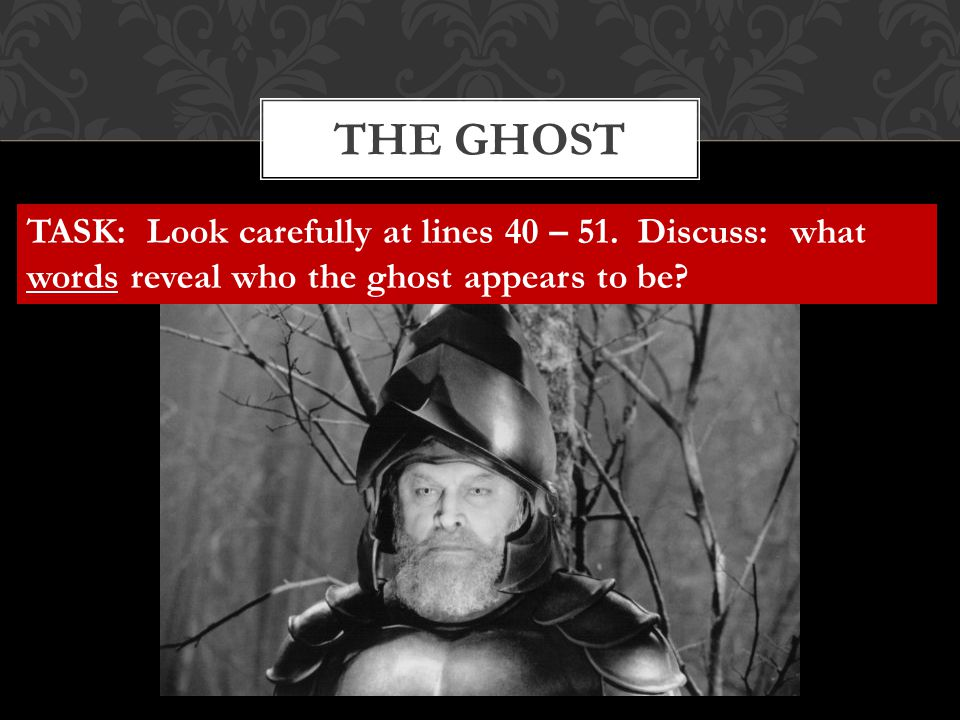 The ghost TASK: Look carefully at lines 40 – 51.