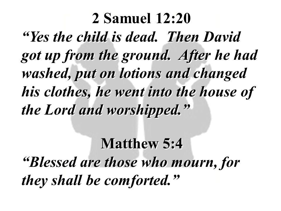 2 Samuel 12:20
