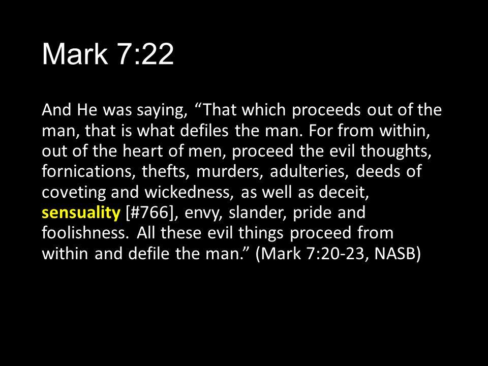 Mark 7:22
