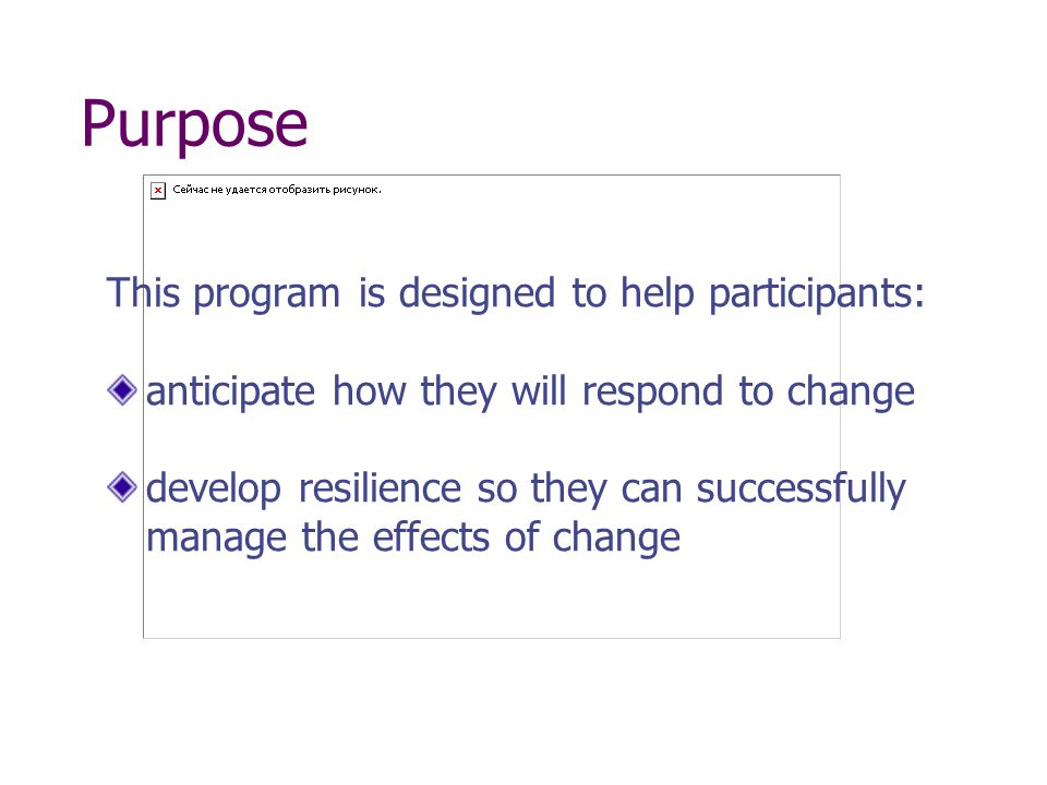 Agenda Defining Change Common Reactions to Change