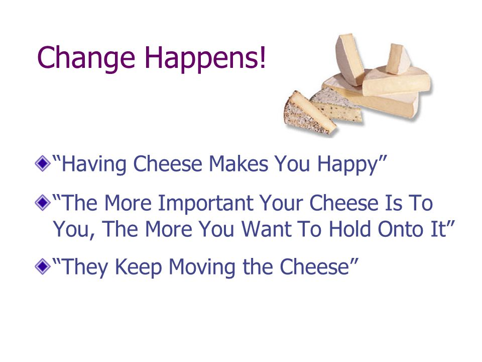 Common Reactions to Change