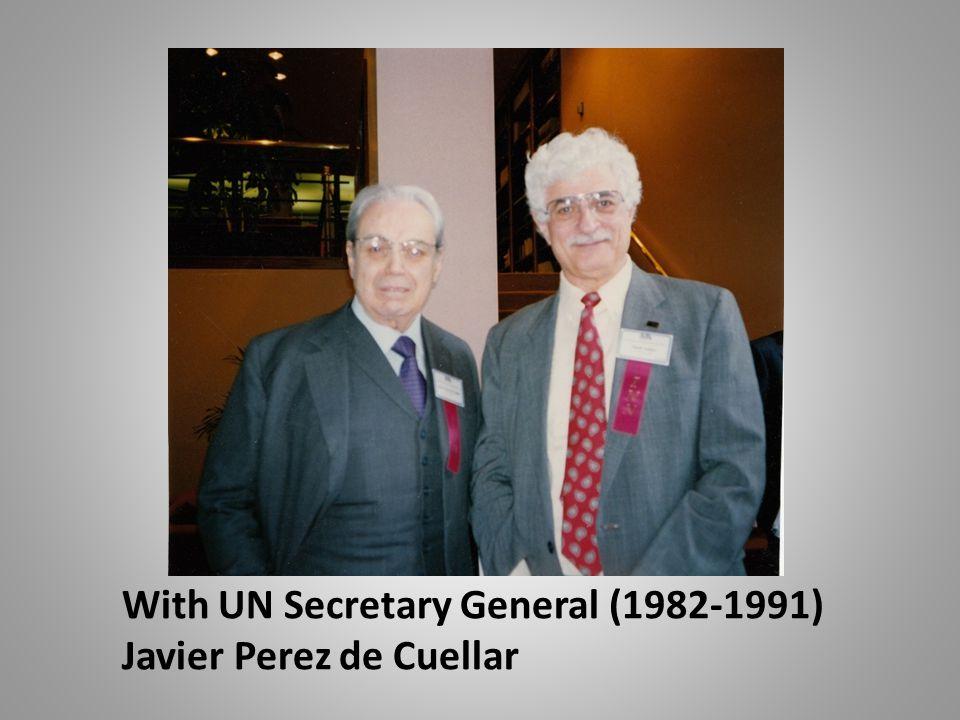 With UN Secretary General (1982-1991)