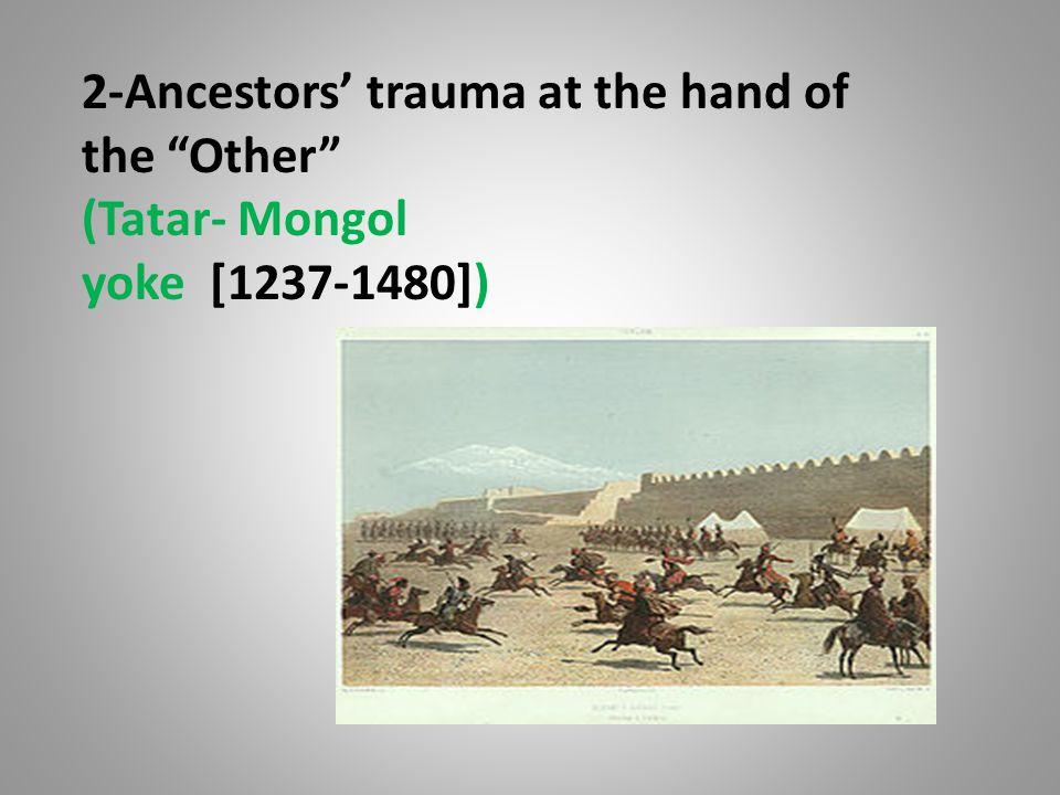 2-Ancestors' trauma at the hand of