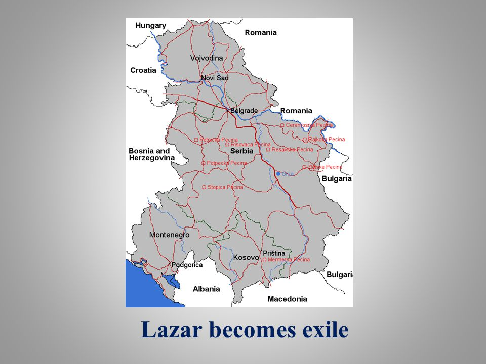Lazar becomes exile