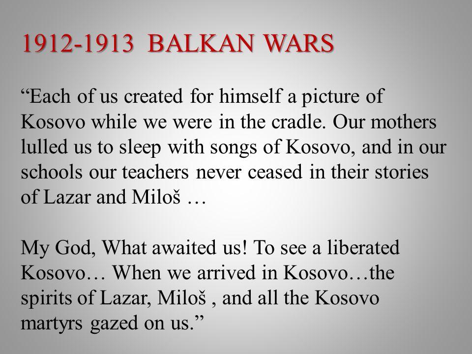 1912-1913 BALKAN WARS
